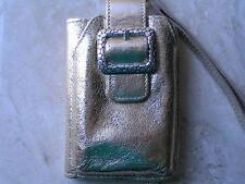 ~Brighton Cell Case w Wallet Gold Multi Pouch iPod/iPhone/Camera/Cell Case!~