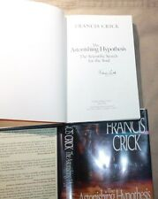 The Astonishing Hypothesis HAND SIGNED by Francis Crick! DNA Discovery! 1st/1st!