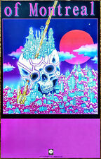 Of Montreal White Is Relic | Irrealis Mood 2018 Ltd Ed Rare Poster +Free Poster!