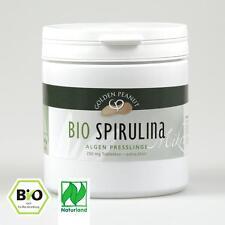 Bio Spirulina Presslinge Naturland 500 g Dose Lebensmittelqualität