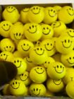 """15 SMILE SMILEY FACE STRESS RELIEF BALLS 2"""" FOAM HAND THERAPY SQUEEZE TOY BALL"""
