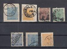 N3867/ SWEDEN – 1855 / 1870 USED CLASSIC LOT – CV 355 $