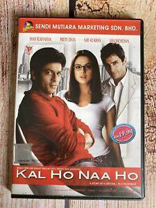 Kal Ho Naa Ho ~ Hindi VCD ~ Malay Subtitles ~ 3 DVD set by Yash Raj Films