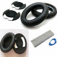 Ersatz Kopfhörer Ear Pads Cushion für QuietComfort QC15 QC2 AE2 AE2I Schwarz