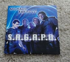 Eurovision Song Contest 2002 Greece Michalis Rakintzis S.A.G.A.P.O CD single