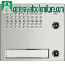 Frontale fonico con 1 pulsante BTICINO SFERA Classic 332111