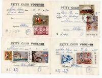 Australia  Post 4 x BROADWAY Petty Cash Vouchers circa 1975