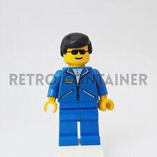 LEGO Minifigures - 1x jbl007 - Man - Jacket Town Omino Minifig Set 6447 6484