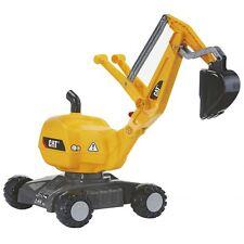 Rolly Toys  CAT Bagger Kinderbagger Sandbagger Sitzbagger gelb