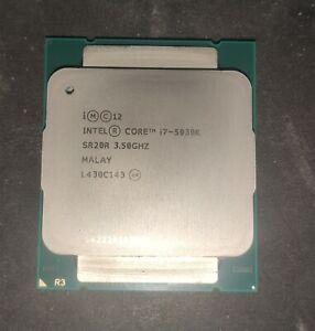 Intel Core i7 5930k 6 cores 12 threads socket 2011-3