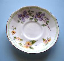 Royal Albert Botanical Teas CLEMATIS Tea Saucer Bone China New