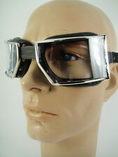 NEW GOGGLES Classic Motorcycle Cafe Racer Aviator OLD SCHOOL VINTAGE RED BARON