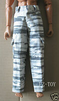 Dragon US Army White/Grey Pants 1/6