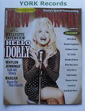 NEW COUNTRY MAGAZINE - October 1996 - Dolly Parton / Waylon Jennings / Nascar