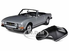 1971 PEUGEOT 504 CABRIOLET GREY  1/18 DIECAST MODEL CAR BY NOREV 184777
