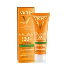Vichy Ideal Soleil Mattifying Corrective Care SPF30 50ml - GENUINE & NEW