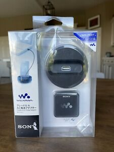 New SONY Walkman Cradle WM-PORT BCR-NWU7 Charging Station Audio Output AC Power