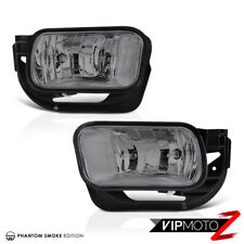 2009-2017 Dodge Ram 2500 3500 Smoke Tinted Bumper Fog Lights Lamp 09-12 Ram 1500