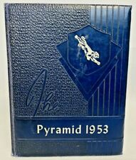 The Pyramid, Pinckneyville Highschool Yearbook 1952-1953, Pinckeyville, IL