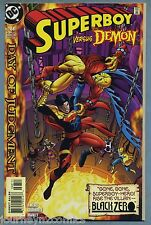 Superboy 68 1999 Day of Judgment Black Zero Demon Appearance Kesel Grummett DC v
