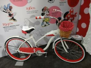 """DISNEY Minnie Mouse Cruiser 26"""" HUFFY Bike Bicycle Limited Edition NEW"""
