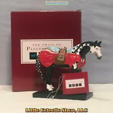 Retired 1E Painted Ponies 12264 CRAZY HORSE #1961 Resin Native Figurine BNIB