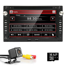 Camera Car Dash Radio DVD Player GPS SWC SD for VW B5 MK4 MK5 Golf Passat Jetta