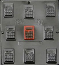 Small Calculator Chocolate Candy Mold 1244 NEW