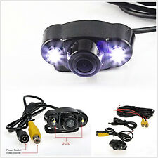 DC12V Dual LED Vehicles 170° Wide Angle Rearview Reverse Backup CMOS Camera Tool