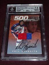01-02 BAP Ultimate Phil Esposito 2CLR AUTO Jersey 9/15  * 500 GOAL SCORERS *