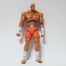 """Jazwares 5"""" Street Fighter Series SAGAT Action Loose Figure Toys Rare"""