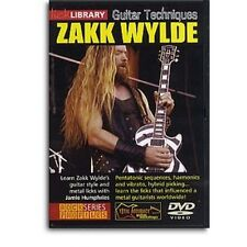 LICK LIBRARY Lick Library Zakk Wylde Guitar Techniques DVD RDR0106 Learn To Play
