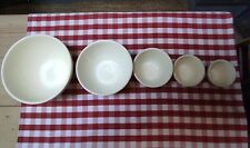 More details for five maling mixing bowls