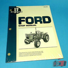 FO44 Workshop Manual Ford 1300 1700 1900 Tractor & 1210 1310 1510 1710 1910 2110