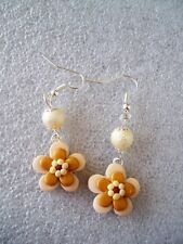 ORECCHINI IN FIMO FATTI A MANO EARRINGS FIORE FLOWER