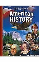 McDougal Littell Middle School American History: Student Edition 2008