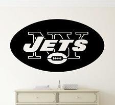 New York Jets Wall Decal Vinyl Sticker NFL Football Emblem Sport Home Art Decor