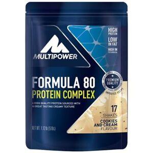Formula 80 Protein Complex Multipower 3 x 510g Btl. dreifache Menge € 33,14/Kg
