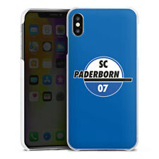 Apple iPhone Xs Max Handyhülle Case Hülle - SC Paderborn blau