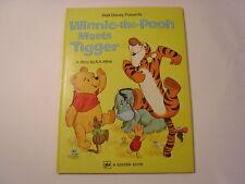 Winnie the Pooh Meets Tigger, A A Milne, Big Golden Book, 12th, 1975