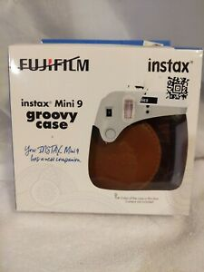 Fujifilm Instax Mini 9 Groovy Camera Case - Brown Tan, New