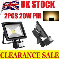 2PCS 20W LED Flood Light Floodlight  Floodlights Lights With PIR Motion Sensor