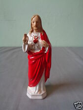 VINTAGE SANMYRO JAPAN SACRED HEART JESUS CHRIST RELIGIOUS STATUE FIGURINE FIGURE