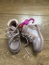 New Ted Baker Girls Pink Hiker Boots Shoes Size Infant UK 7 EU 24 rrp£42
