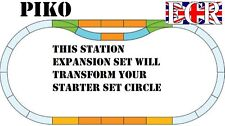 NEW PIKO G SCALE STATION TRACK PACK SET LGB BACHMANN COMPATIBLE ELECTRIC TRAIN