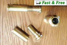 Door Spy Peep Hole Security Viewer 160° Wide Angle Solid Brass - From £1.70 each
