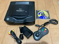 SNK NEOGEO CD Console TopLoading Model with Game