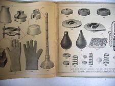 catalogue COLLOT manufacture caoutchouc bottes tuyaux bouillotte 1939