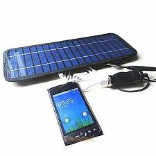 12V 5W Smart Car Boat Solar Panel Power Battery Charger for Automobile Motor