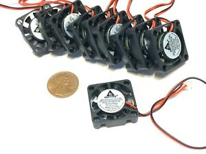 10 Pieces 5v Fan mini 25mm x 7mm 2pin 2507 dc mini micro brushless cooling A30